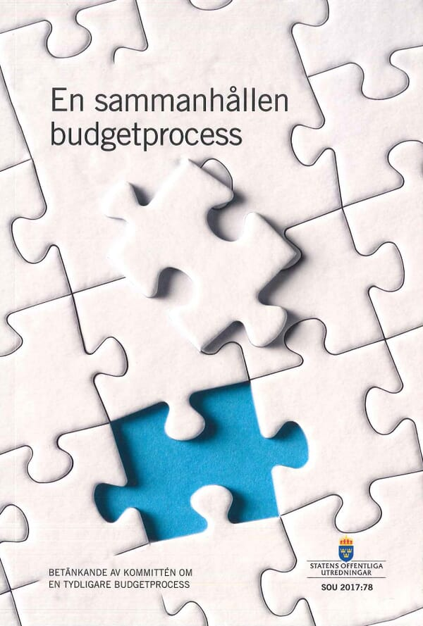 En sammanhållen budgetprocess. SOU 2017:78