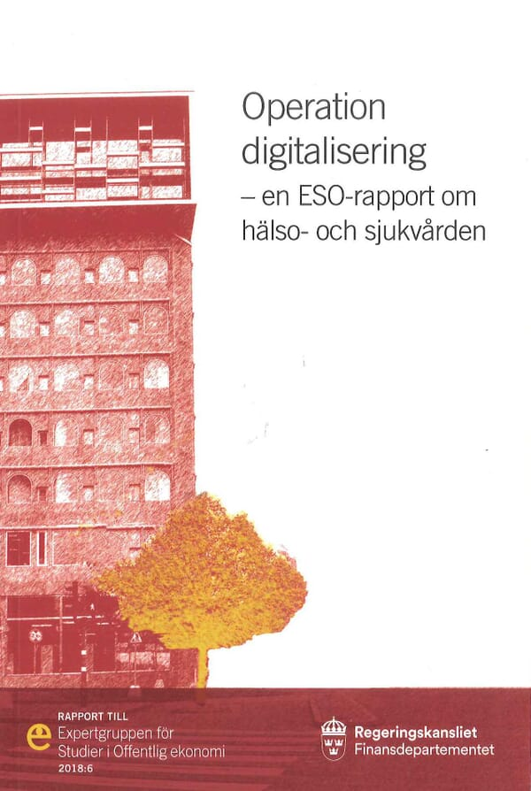 Operation digitalisering. ESO-rapport 2018:6