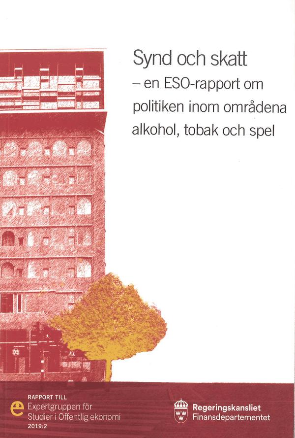 Synd och skatt. ESO-rapport 2019:2