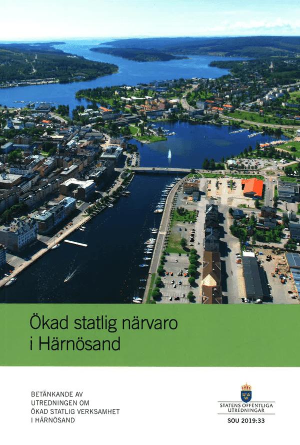 Ökad statlig närvaro i Härnösand. SOU 2019:33
