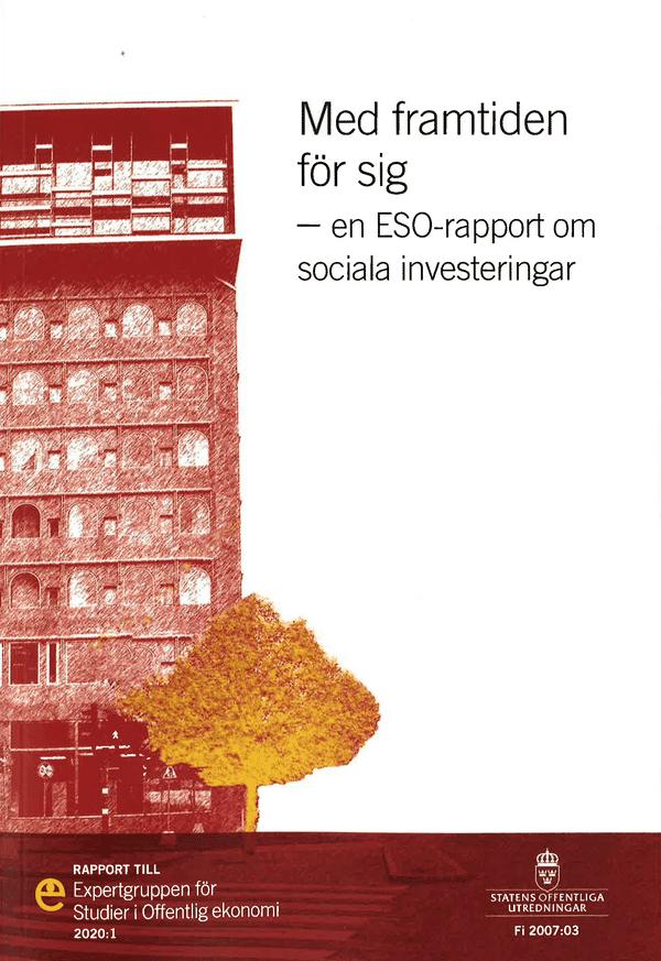 Med framtiden för sig. ESO-rapport 2020:1