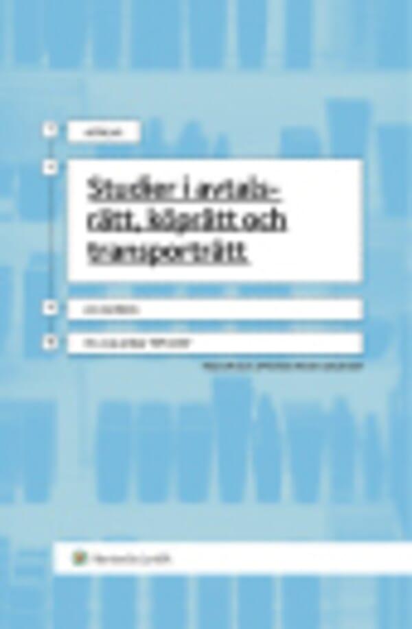 Studier i avtalsrätt, köprätt och transporträtt
