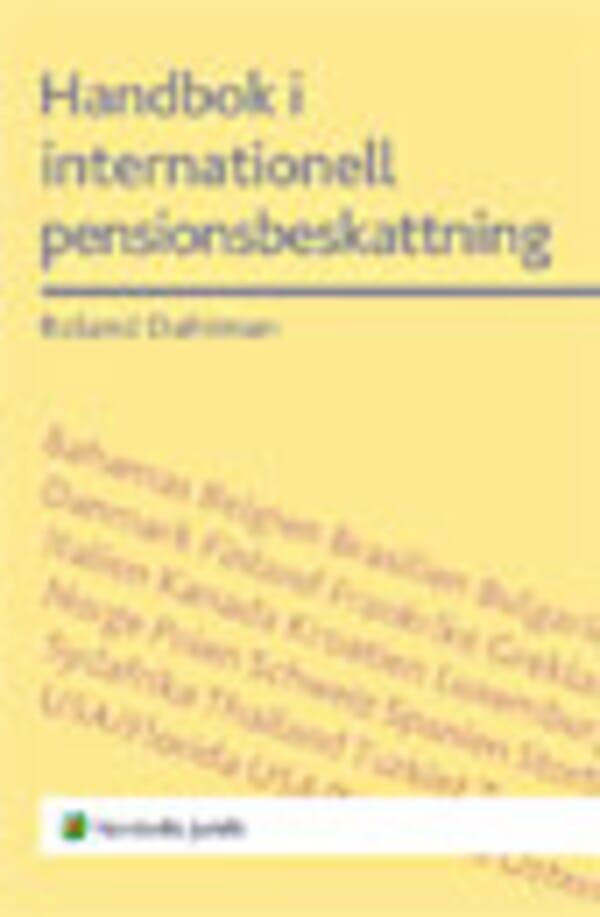 Handbok i internationell pensionsbeskattning