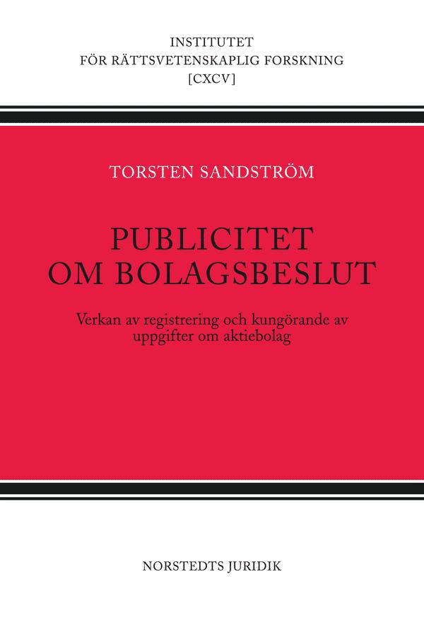 Publicitet om bolagsbeslut