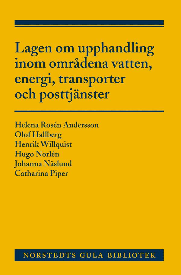 Lagen om upphandling inom områdena vatten, energi , transporter och posttjänster (LUF)