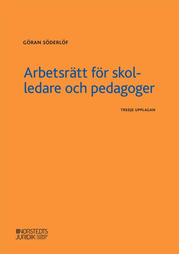 Arbetsrätt för skolledare och pedagoger