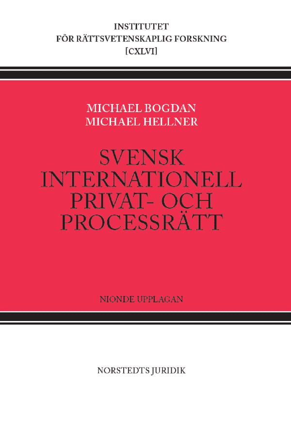 Svensk internationell privat- och processrätt