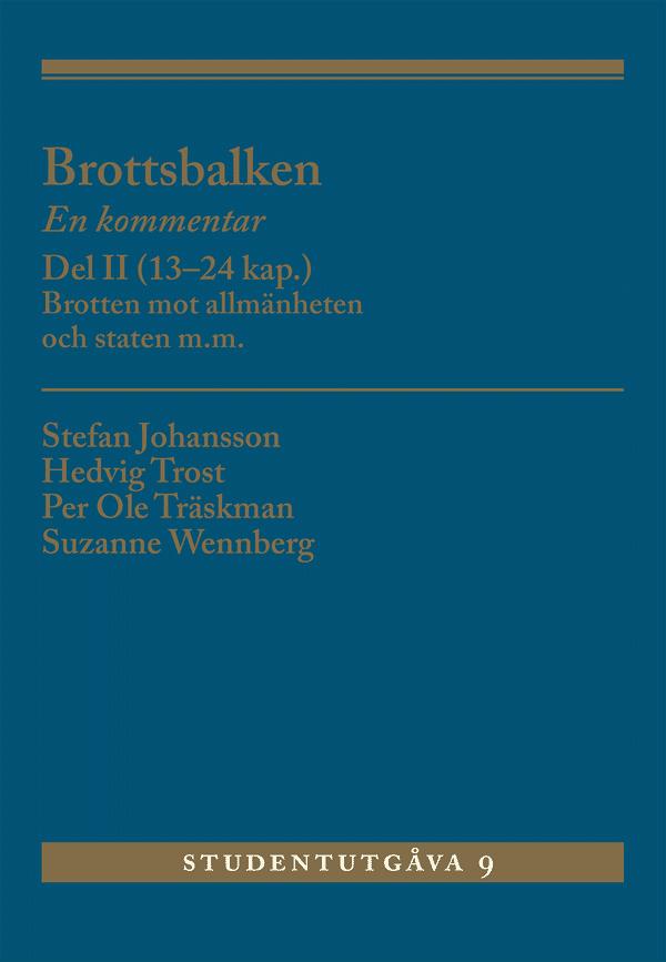 Brottsbalken Del II (13-24 kap.)
