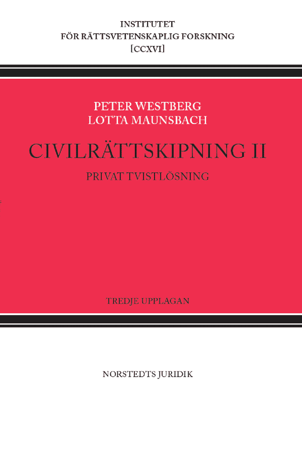 Civilrättskipning II