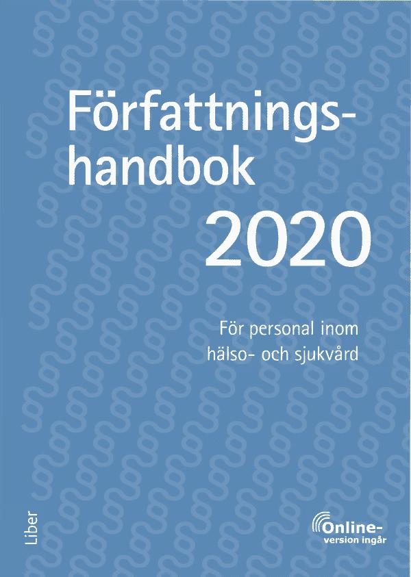 Författningshandbok 2020 - bok och onlinetjänst